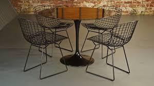Eero Saarinen Black Nero Marble Tulip Dining Table For Knoll Midcentury Vintage In Good Condition