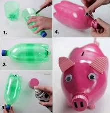 DIY Plastic Bottle Piggy By Diyforever