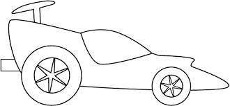 Car Coloring Pages Preschoolers