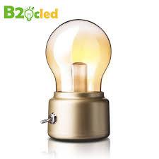 2017 new retro usb rechargeable led light bulb l
