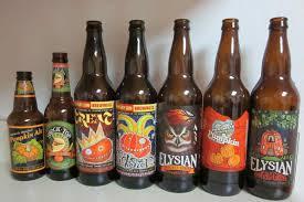 Elysian Pumpkin Ale by Karen U0027s Vegan Kitchen Pumpkin Beer Tasting U2013 Some Local Some Not