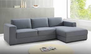canap moderne design canapé moderne en tissu gris clair angle à gauche road