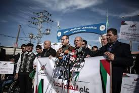 siege conference palestinian mp jamal al khudar press conference pictures getty