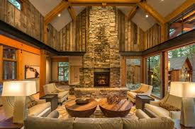 Rustic Living Room Wall Ideas by Rustic Room Designs Alluring 55 Airy And Cozy Rustic Living Room