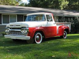 Ford's Answer To 1957 Chevy 3100 Short Bed Cool Truck