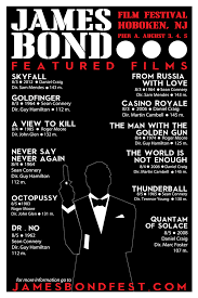 James Bond Film Festival Poster