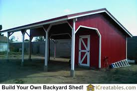 Livestock Loafing Shed Plans by Run In Shed Plans U2013 Icreatables Com