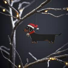 Ebay Christmas Tree Decorations by Dachshund Christmas Tree Decoration 7 95 Mischievous Mutts