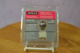 apollo 31178 600w 120v halogen l for overhead projectors ebay