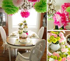 Decorate Your Dining Room For Easter Design Happens Table Settings Centerpieces Colorful Spring