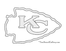 Dallas Cowboys Pumpkin Pattern by Nfl Kansas City Chiefs Stencil Free Stencil Gallery