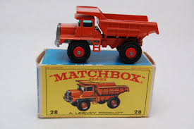 No.28 Mack Dump Truck W/Original Box By Matchbox Lesney England 60's ... Matchbox Cars And Trucks Friend For The Ride Light Sound Small Mr Toys Toyworld Superfast No61 Wreck Truck Ebay Petrol Pumper Model Hobbydb Vintage Trucksvans 6 Vehicles 19357017 Pile With Dozer Saint Sailor Camo Styles May Vary Walmartcom 19177 Iveco Tipper Superkings Series Action Amazoncom Mbx Explorers Chevy K1500 4x4 Pickup 88 Lesney No 48 Dodge Dumper Red Dump 1960s Transport Semi Car Carrier Toy Boys Large 18 Jimholroyd Diecast Collector