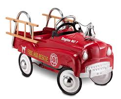 Amazon.com: InStep Fire Truck Pedal Car: Toys & Games