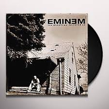 Eminem Curtains Up Encore Version by Marshall Mathers Lp Vinyl Record