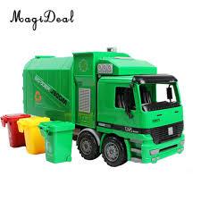 100 Garbage Truck Kids 122 Scale Die Cast Pull Back Sanitation Model
