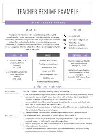 Teacher Resume Samples & Writing Guide | Resume Genius 16 Most Creative Rumes Weve Ever Seen Financial Post How To Make Resume Online Top 10 Websites To Create Free Worknrby Design A Creative Market Blog For Job First With Example Sample 11 Steps Writing The Perfect Topresume Cv Examples And Templates Studentjob Uk What Your Should Look Like In 2019 Money Accounting Monstercom By Real People Student Summer Microsoft Word With 3 Rumes Write Beginners Guide Novorsum