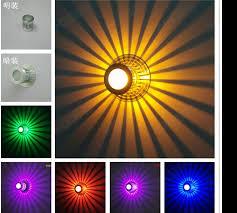 new ideas led aisle lights entrance corridor lights modern living room ceiling l colorful lighting 2pcs