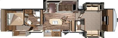 Fifth Wheel Bunkhouse Floor Plans by 2018 Open Range 376fbh Front Living Room Or 2nd Bedroom Fifth Wheel