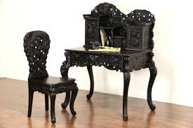 Antique Secretarys Desk by Sold Japanese 1920 U0027s Antique Dragon Carved Secretary Desk And