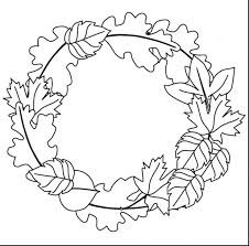 Autumn Leaf Coloring Pages Printable Fall Free Adults Themed To Print Leaves For Preschoolers
