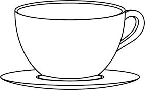 coloriage tasse et soucoupe dory fr coloriages