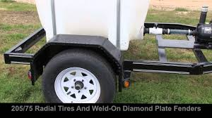 100 Used Water Trucks For Sale 225 Gallon Single Axle Tank Trailer YouTube