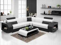 New Design Modern Sectional Living Room Leather Sofa G8001B in
