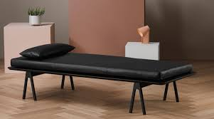 relaxliege holz level daybed woud holzdesignpur