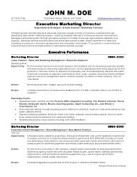 Sample Healthcare Marketing Resume Communication Format Executive Director Hospital