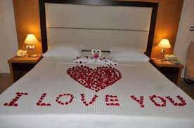 Love It When My Husband Covers The Bed In Rose Petals
