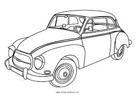 Cars New Vintage Car Coloring Pages Colouring Printable Free Disney Train