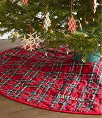 Plaid Classic Tree Skirt