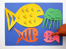 Easy Kirigami Fish Craft Fun Paper Cutting And Folding Activity With Kids