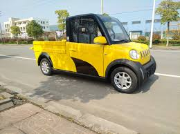 China Right Hand Drive Mini Truck 2 Doors Electric Pickup - China 2 ...