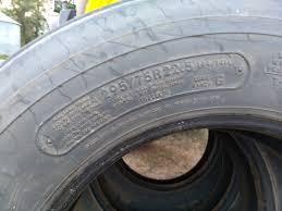100 Recap Truck Tires 29575R225 Semi Trailer Halliday ND