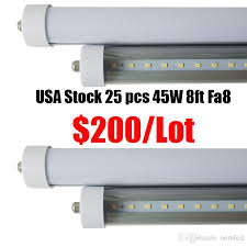 door cooler led lights fixtures 8ft single pin fa8 t8 led