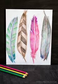 LiveLoveDIY How To Use Watercolor Pencils Aka My Favorite New Way Make Art