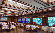 A Japanese Example The Dining Room Of Fujiya Hotel In Hakone