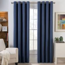 Bed Bath And Beyond Curtains And Drapes by Herald Square Grommet Top Room Darkening Window Curtain Panel