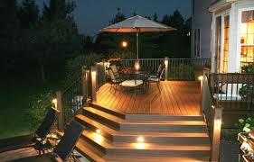 Solar Lights For Deck Stairs by Led Step Lights Interior Outdoor Step Lighting Deck Lighting Lowes