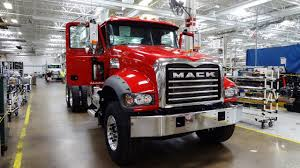 Mack Truck Factory - Macungie, PA - YouTube