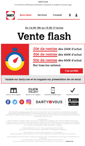 darty siege social darty vente flash du 15 aout jusqu