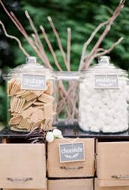 Perfect For An Outdoor Wedding That Can Host A Fire Pit This Smores