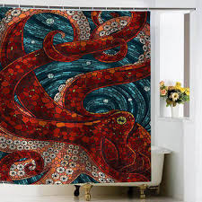 Shop Octopus Shower Curtain on Wanelo