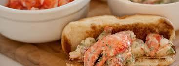 lobster roll picked lobster meat