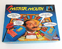 Rare Vintage Tiger Motor Mouth Board Game Complete Like New Condition 1990 Tongue Twister