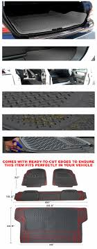 5-Pieces Grey Heavy Duty Al Weather 3D Rubber Floor Mat [Front+Rear+ ... Customfit Faux Leather Car Floor Mats For Toyota Corolla 32019 All Weather Heavy Duty Rubber 3 Piece Black Somersets Top Truck Accsories Provider Gives Reasons You Need Oxgord Eagle Peterbilt Merchandise Trucks Front Set Regular Quad Cab Models W Full Bestfh Tan Seat Covers With Mat Combo Weathershield Hd Trunk Cargo Liner Auto Beige Amazoncom Universal Fit Frontrear 4piece Ridged Michelin Edgeliner 4 Youtube 02 Ford Expeditionf 1 50 Husky Liners