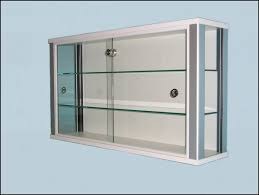 furniture marvelous glass display cabinet with lights lighted