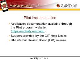 Umd Help Desk by Mobility Umd Edu Incorporating Mobility Technology Into The Cus