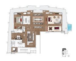 100 Palms Place Hotel And Spa At The Palms Las Vegas Penthouse Floor Plan
